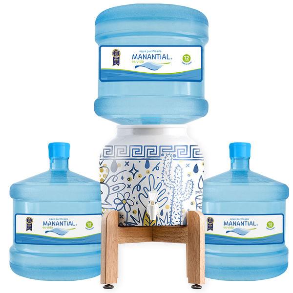 Pack Soporte Cactus 12 litros